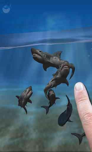 Shark Fingers 3D Aquarium FREE 1