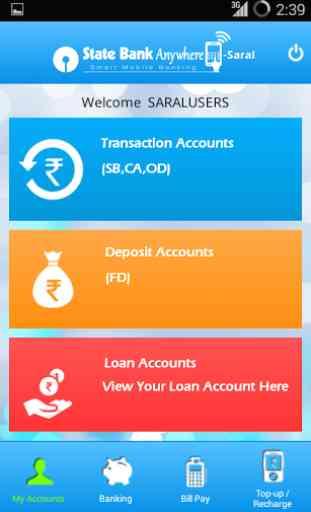 State Bank Anywhere Saral 2