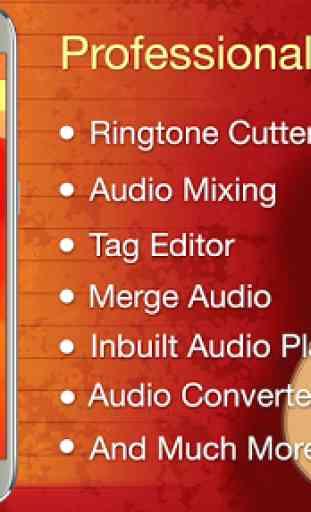 Audio MP3 Cutter Mix Converter 1