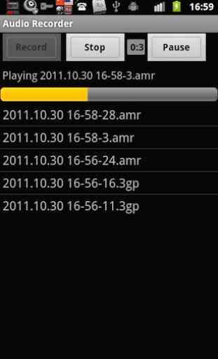 Audio Recorder 4