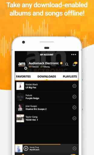 Audiomack - Rap, Reggae, & EDM 1