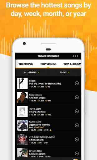 Audiomack - Rap, Reggae, & EDM 4