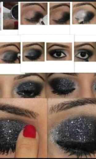 Eyes MakeUp Step by Step 1