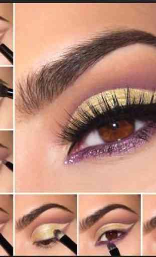 Eyes MakeUp Step by Step 3