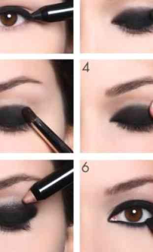 Eyes MakeUp Step by Step 4
