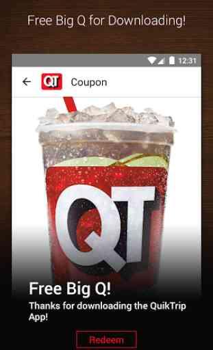 QuikTrip QT Gas, Food Coupons 2
