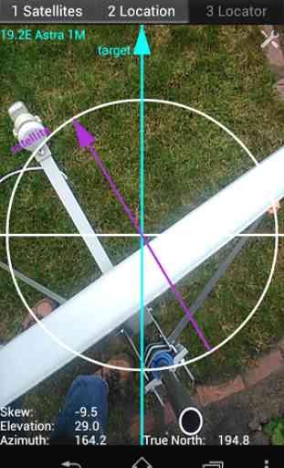 Satellite Locator 1