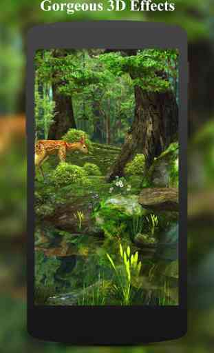 3D Deer-Nature Live Wallpaper 1
