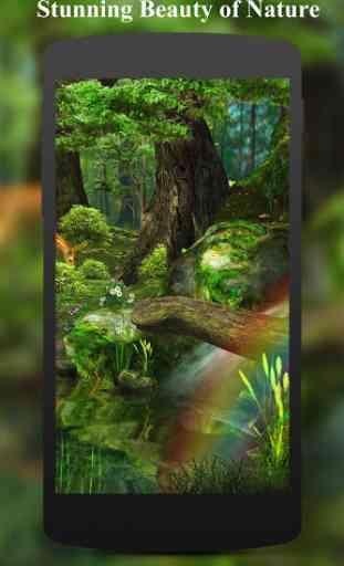 3D Deer-Nature Live Wallpaper 2