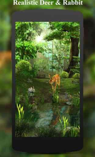 3D Deer-Nature Live Wallpaper 3