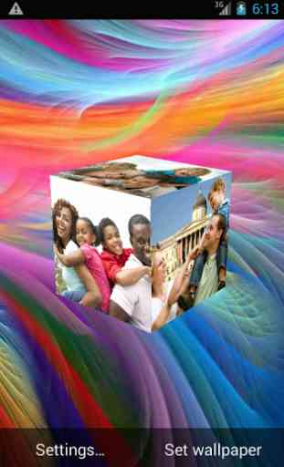3D Gallery Live Wallpaper 1