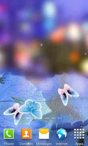 Abstract Butterflies Wallpaper 1