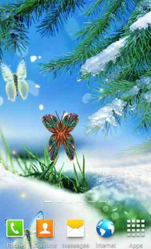 Abstract Butterflies Wallpaper 3