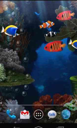 Aquarium Free Live Wallpaper 1