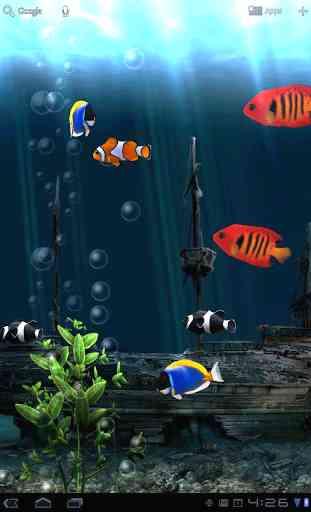 Aquarium Free Live Wallpaper 2