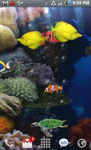 Aquarium Free Live Wallpaper 3