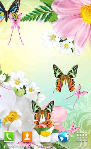 Butterflies Live Wallpaper 1