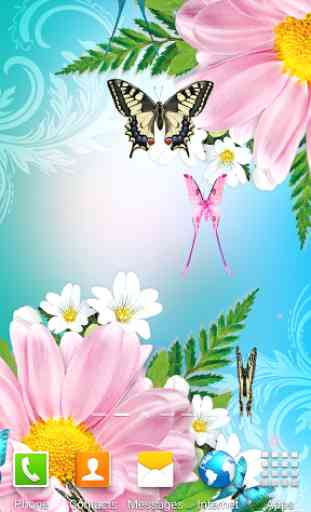 Butterflies Live Wallpaper 2