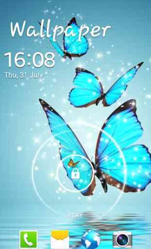 Butterfly Live Wallpaper 3