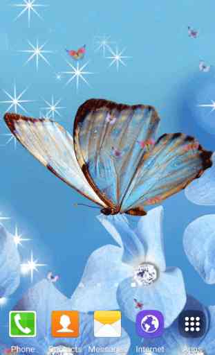 Butterfly Live Wallpaper 1