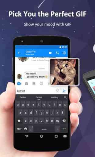 GO Keyboard Pro - Emoji, GIFs 1