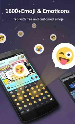 GO Keyboard Pro - Emoji, GIFs 2