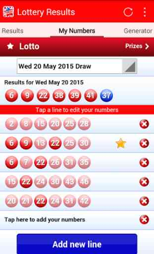 Lottery Results 3