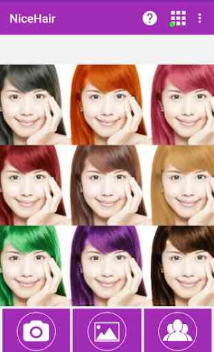 NiceHair - Hair Color Changer 1