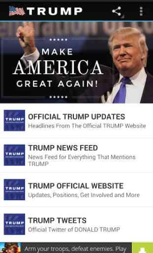 PRESIDENT TRUMP NEWS 1