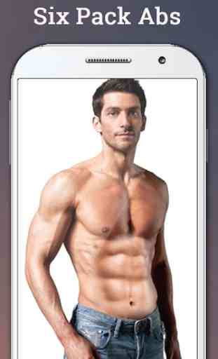 Six Pack Abs Photo Editor 2