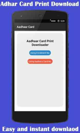 Aadhaar Card Print 1