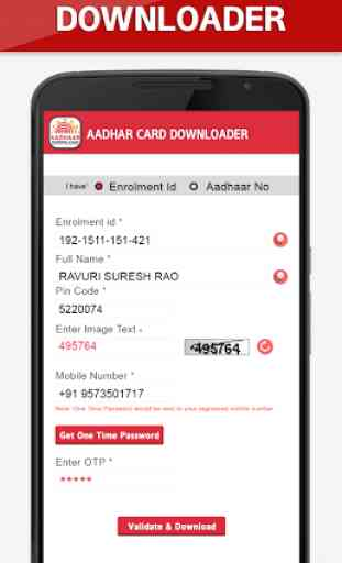 Aadhar Card Downloader 2