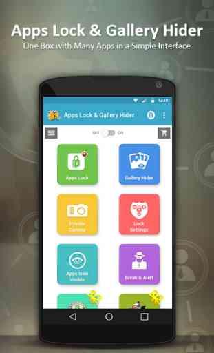 Apps Lock & Gallery Hider 2