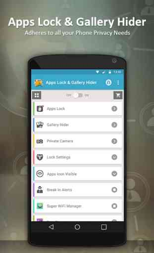 Apps Lock & Gallery Hider 3