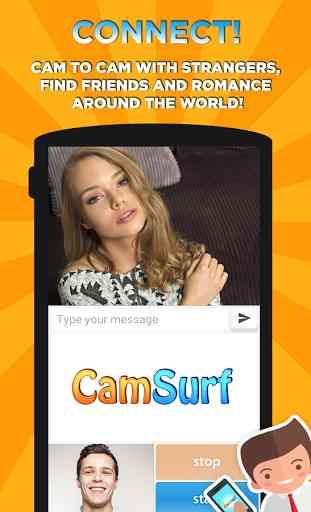 Camsurf: Chat Random & Flirt 4