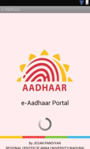 e-Aadhaar 1
