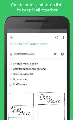 Evernote - stay organized. 1