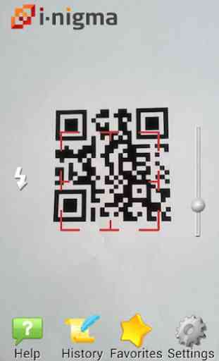 i-nigma QR & Barcode Scanner 1
