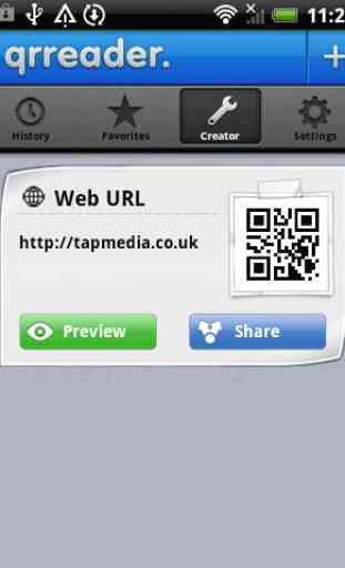 QR Reader for Android 4