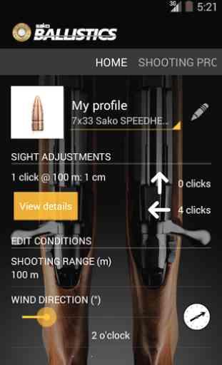 Sako Ballistics Calculator 1