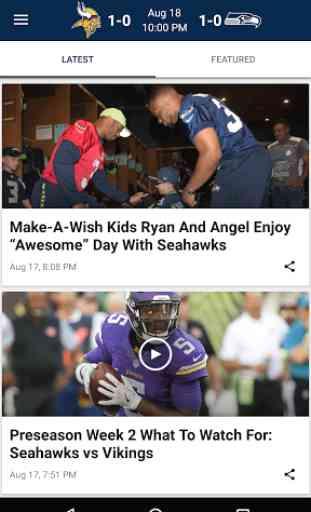 Seattle Seahawks Mobile 3