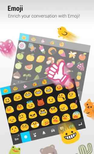 ZenUI Keyboard – Emoji, Theme 2