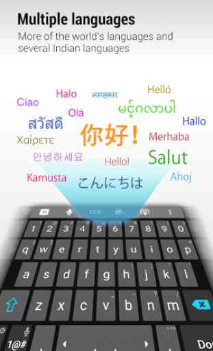 ZenUI Keyboard – Emoji, Theme 3