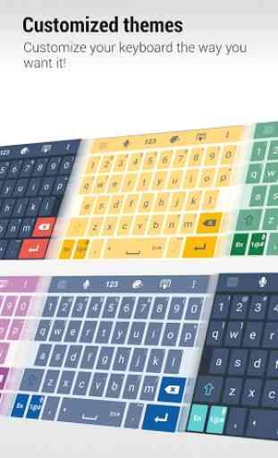 ZenUI Keyboard – Emoji, Theme 4