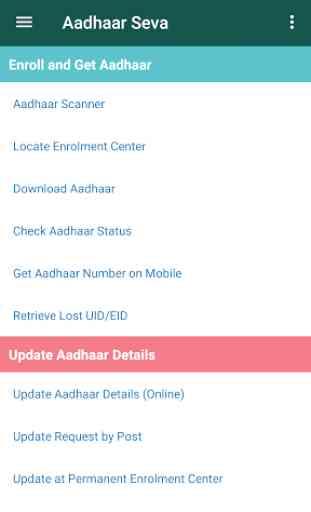 Aadhaar Card Seva 1