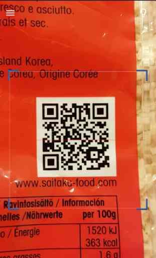 Barcode Scanner & QR Reader 2