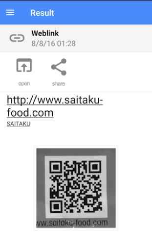 Barcode Scanner & QR Reader 3