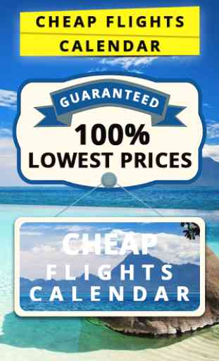 Cheap Flights Calendar 1