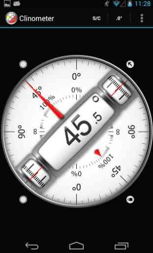 Clinometer + bubble level 2