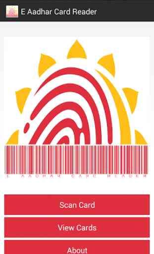 E Aadhaar Card Reader 1